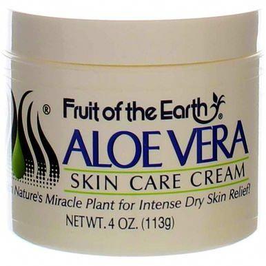 Fruit Of The Earth Aloe Vera Skin Care Cream 4 Oz Aloeverahairgrowth In 2020 Skin Care Cream Aloe Vera Skin Care Aloe Vera