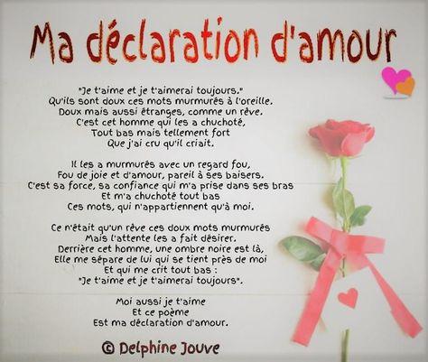 Anthologie Des Plus Belles Déclarations Damour Poesie D