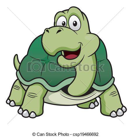 tartaruga, cartone animato Vettore archivi di