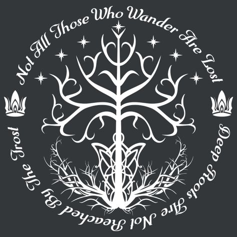 White Tree of Hope by - Get Free Worldwide Shipping! This neat design is available on comfy T-shirt (including oversized shirts up to ladies fit and kids shirts), sweatshirts, hoodies, phone cases, and more. Free worldwide shipping available. Ring Tattoos, Tatoos, Tatouage Tolkien, Lotr Tattoo, Tree Of Gondor Tattoo, Tolkien Tattoo, Gandalf Tattoo, Hobbit Tattoo, Lord Of The Rings Tattoo