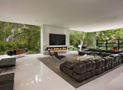 no more privacy in this luxury glass pavilion house by steve hermann california pavilion luxury and house