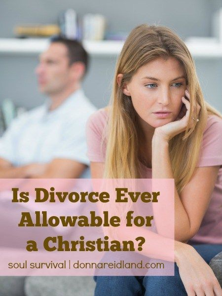 Is Divorce Ever Allowable for a Christian?