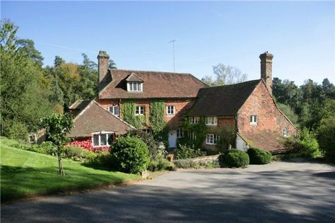 Brush with fame: Cotchford Farm in East Sussex was home to AA Milne,