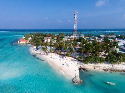 جزيرة مافوشي في المالديف Outdoor Water Coastline