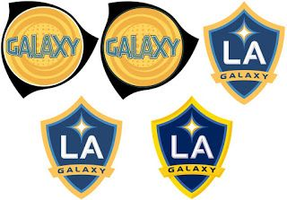 Escudos Gino Los Angeles Galaxy Eua La Galaxy Los Angeles Futebol