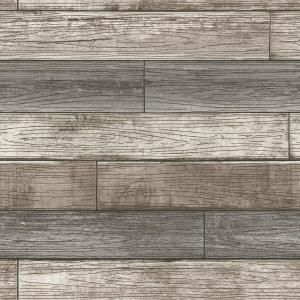Nextwall Vintage White Brick Vinyl Peelable Wallpaper Covers 30 75 Sq Ft Ax10800 The Home Depot In 2021 Reclaimed Wood Wallpaper Faux Wood Wall Wood Plank Walls