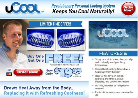 Ucool Review Personal Cooling System Person Keep Your Cool Body