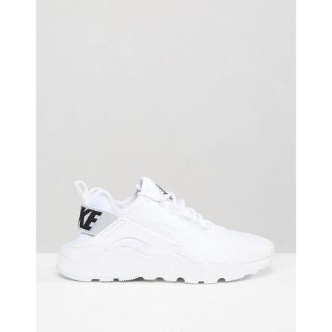 limited guantity buy sale sleek Nike Huarache Run Ultra Trainers In White ($140) ❤ liked on ...