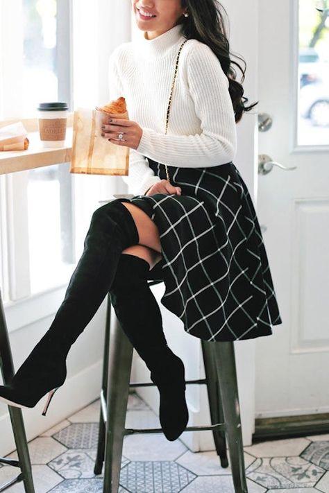 25 Stylish Ways to Wear Plaid