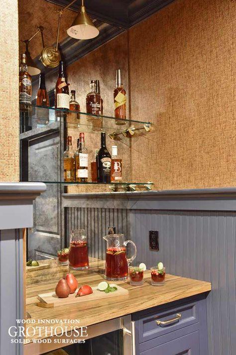 Wood Mini Bar Top In Littleton Ma