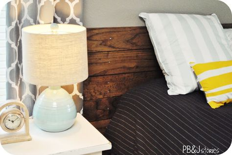 DIY Wood Headboard Tutorial