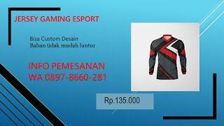 Download 0897 8660 281 Bikin Jersey Esport Custom Bandung Mockup Desain Pisa