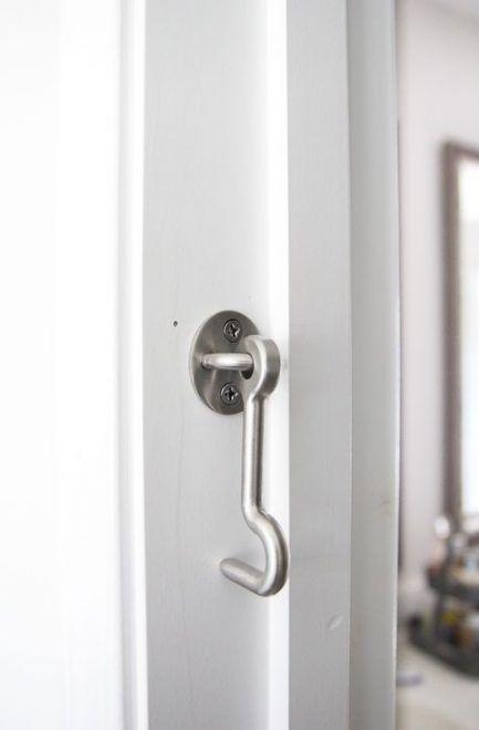 30 Ideas Barn Door Lock Ideas Sliding In 2020 Sliding Barn Door Bathroom Barn Door Locks Barn Door Handles