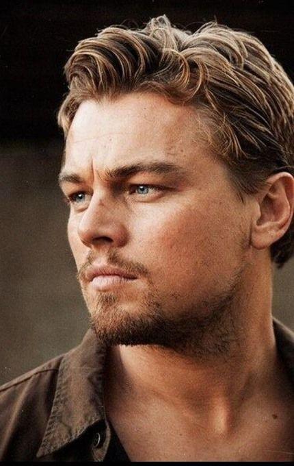 Amazing face. Leonardo Di Caprio.