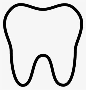 Tooth Outline Png Download Transparent Tooth Outline Png Images Tooth Outline Black Outline Heart Mandala Coloring Books