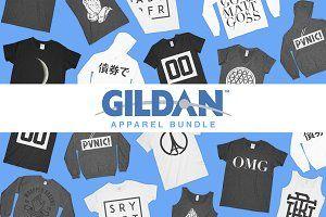 Download Gildan Mockup Bundle Psd Mockup Free Psd Mockups Clothing Mockup Photoshop Mockup Mockup