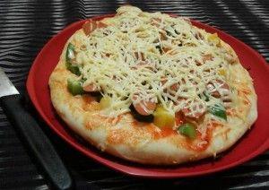 Resep Pizza Teflon Tanpa Di Banting Empuk Dan Anti Gagal Di 2020 Pizza Keju Pizza Hut Kue Keju