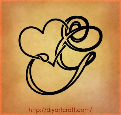 Amato Designing Simple Initial G Tattoo Design Calligraphy Style | Art  IT14