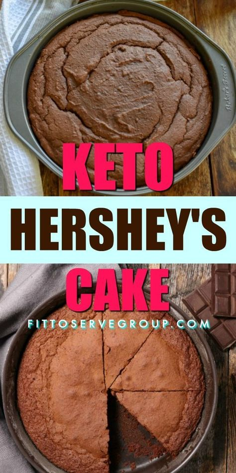 Photo of Keto Hershey's Chocolate Cake