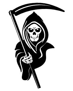 Grim Reaper Clipart : reaper, clipart, Reaper, Clipart