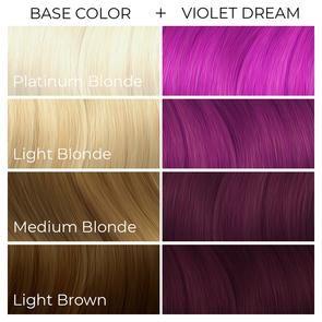 Violet Dream In 2020 Hair Color For Warm Skin Tones Fantasy Hair Color Arctic Fox Hair Color