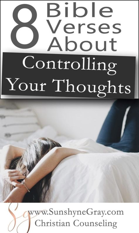 Bible Verses About Controlling Your Thoughts