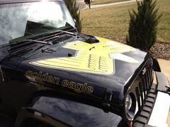 Jeep Wrangler Jk Golden Eagle Full Color Hood Decal Kit Jeep
