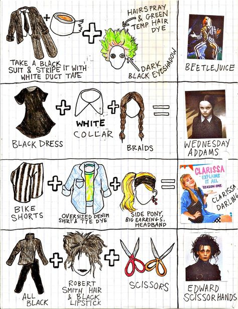 More last minute Halloween costumes. - would totally do the Clarissa Explains It All costume for an party!