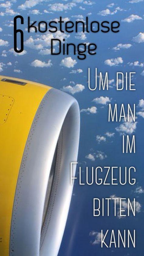 6 kostenlose Dinge, um die man im Flugzeug bitten kann - #bitten #die #Dinge #Flugzeug #im #kann #kostenlose #Man #um