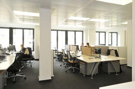 Aménagement de bureaux open space