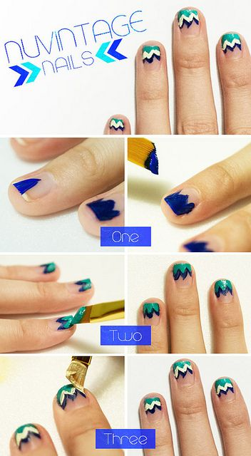 #NUVINTAGE nails!