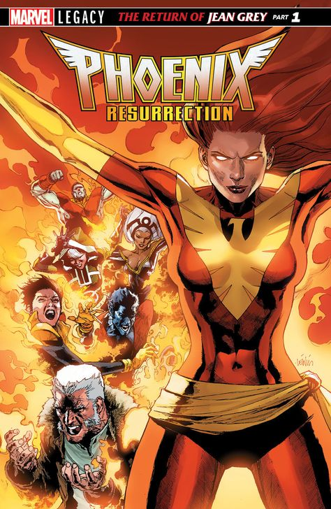 Marvel Comics Has Officially Announced That The Original Adult Incarnation Of Jean Grey Will Make Her Return In Phoenix Resurrection This De Marvel Comic Universe Jean Grey Jean Grey Phoenix