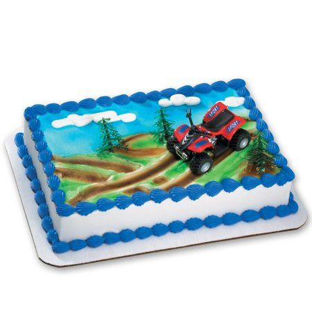 Special Order Cake Decoration Decoset Atv Walmart Com Cake Decorating Kits Order Cake Cake Decorating
