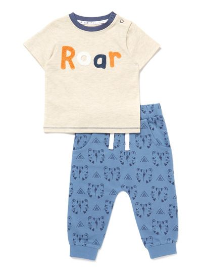 2ab2ab110 Blue Roar Jog Set (0-24 months) from Tu at Sainsbury's ! Your Online ...