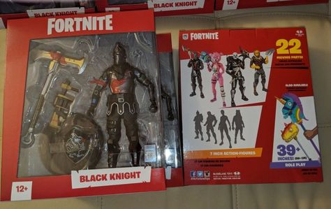 New Fortnite Black Knight 7 Inch Action Figure By Mcfarlane Toys New