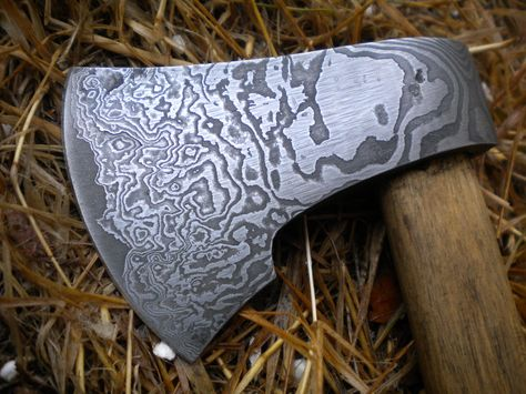 [Withdrawn] Damascus knife and axe