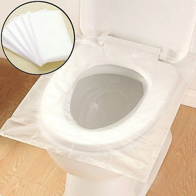 New Disposable Toilet Seat Cover Universal Sanitary Camping Travel Supplies 6pcs Toilet Seat Cover Toilet Seat Toilet
