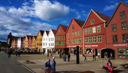 Visit The Bergen Fish Market And Shops Crafts In Norway