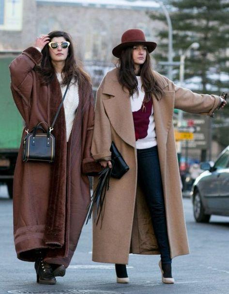 Street fashion: New York Fashion Week jesień-zima