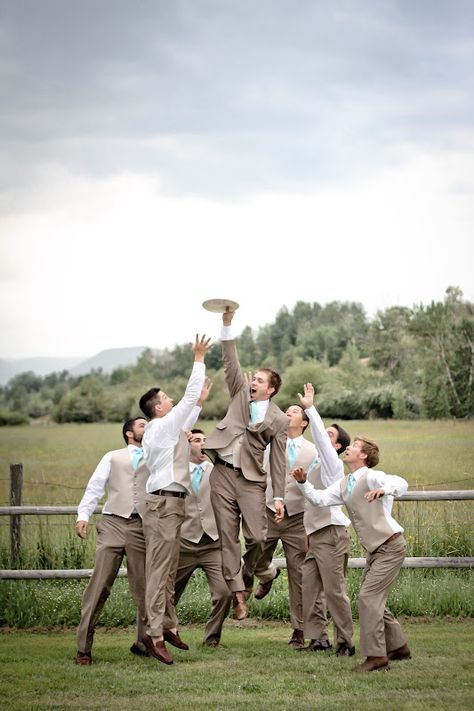 I am ALL FOR playing Frisbee at the reception!! I'd better see James owning!
