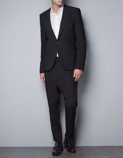 Vestiti Eleganti Zara Uomo.Pantaloni Sarouel Ampi Pantaloni Uomo Zara Italia