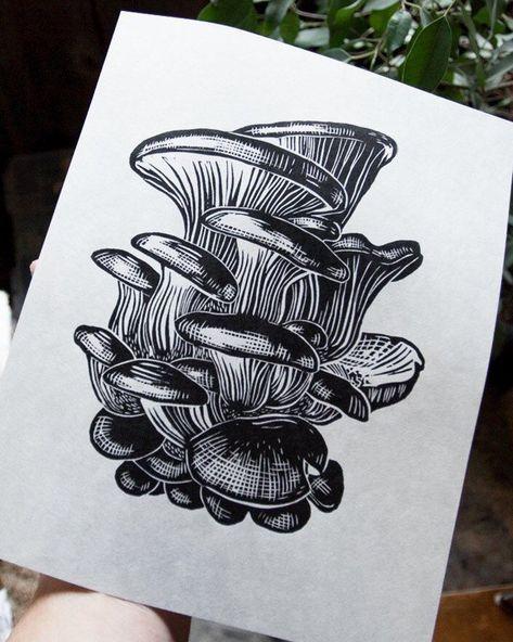 Purple Butterfly Tattoo, Intaglio Printmaking, Scratchboard Art, Mushroom Art, Framed Prints, Art Prints, Ink Illustrations, Linocut Prints, Gravure