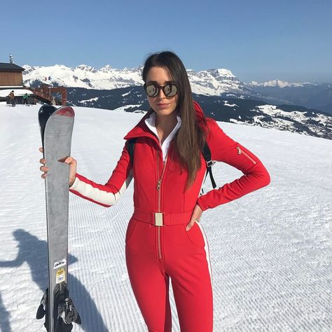 01bc2354d1 laurenmitchellsBringing back the onesie in my new fav Suit ❤  Cordova   skisuit  skiing  ski  canadian  love  onesie  retro  fashion  typical   hadtodoit ...