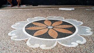 Batu Sikat Koral Sikat Ampyangan Lantai Carport Keramik Garasi Keramik Carport Keramik Garasi Mobil Lantai Garasi Harga Batu Sikat Kerami Di 2021 Lantai Batu Minimalis