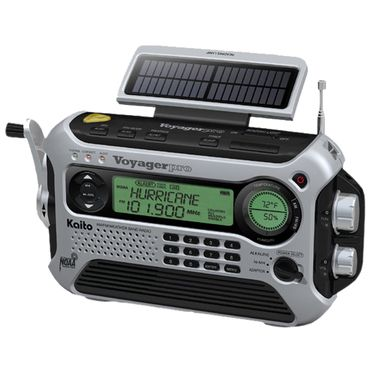 The Voyager Pro Is The Ultimate Multi Function Flashlight Radio This Device Can Be A True Life Save Following Natural Disa Emergency Radio Radio Weather Radio
