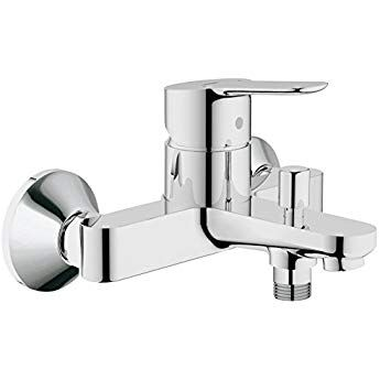 Eurostyle New Mixer tap single knob for bath and shower faucet white 33591LS3