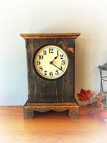 Rustic Mantel Clock Rustic Mantel Mantel Clock Clock