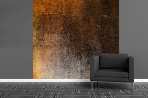 Peinture à effet béton, métal ou rouille en 21 idées originales - peinture sur beton brut