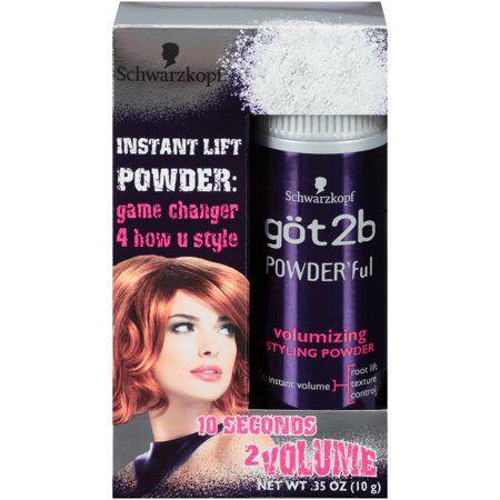 Got2b Powder Ful Volumizing Hair Styling Powder 0 35 Ounce Walmart Com Hair Powder Volume Hair Hair Volume Powder