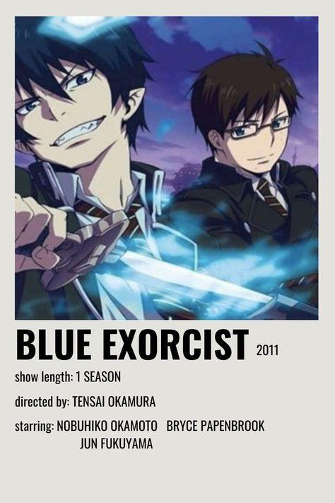 blue exorcist movie poster